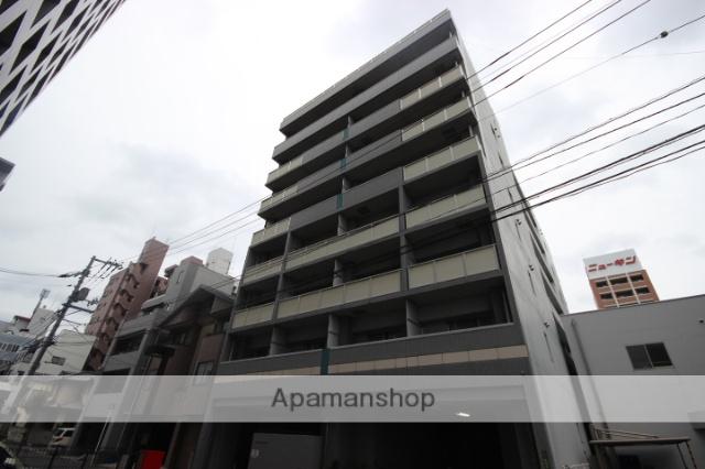 広島県広島市南区、的場町駅徒歩10分の築20年 8階建の賃貸マンション