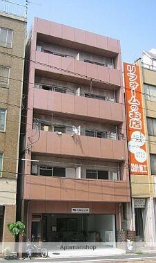 広島県広島市中区、土橋駅徒歩4分の築32年 5階建の賃貸マンション