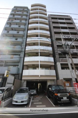 広島県広島市中区、城北駅徒歩4分の築2年 11階建の賃貸マンション