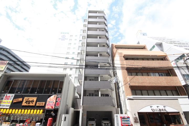 広島県広島市中区、鷹野橋駅徒歩7分の築8年 11階建の賃貸マンション