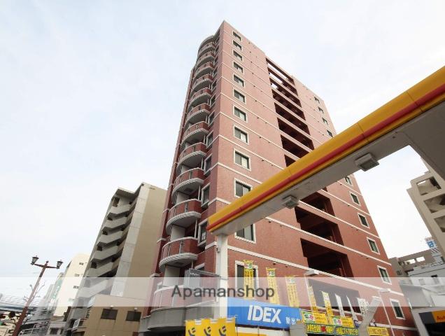 広島県広島市中区、原爆ドーム前駅徒歩5分の築9年 13階建の賃貸マンション