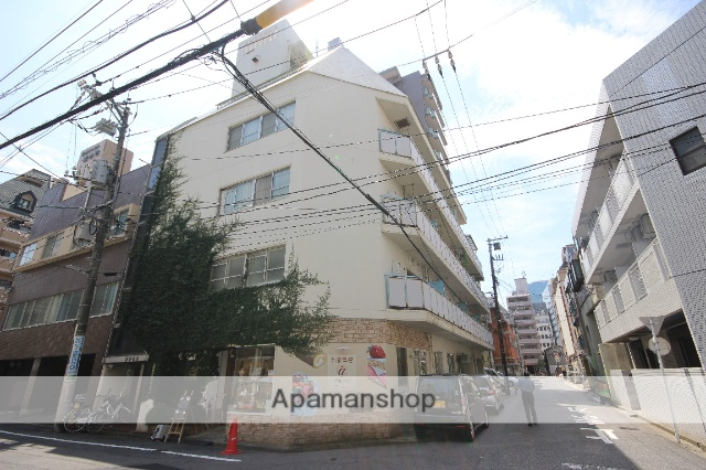 広島県広島市中区、稲荷町駅徒歩7分の築39年 5階建の賃貸マンション