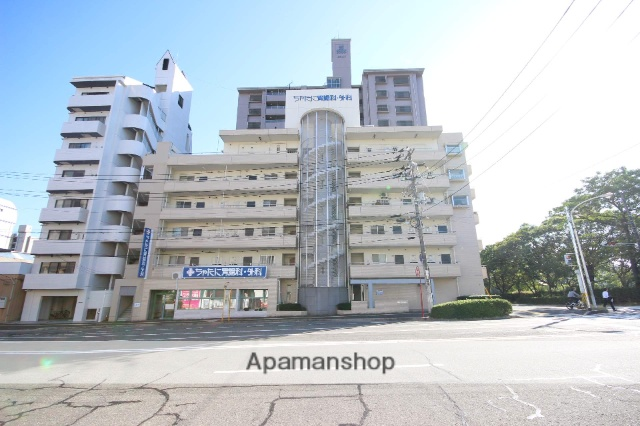 広島県広島市中区、土橋駅徒歩7分の築91年 6階建の賃貸マンション