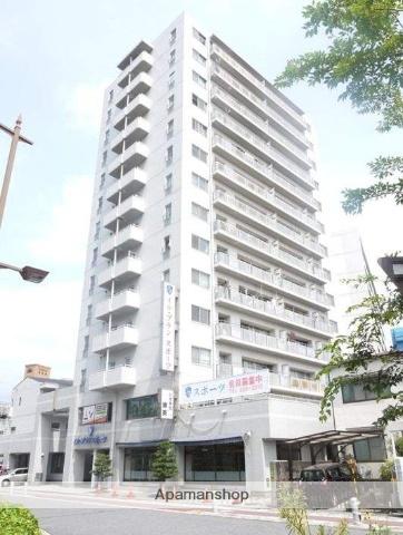 広島県広島市中区、新白島駅徒歩2分の築26年 14階建の賃貸マンション