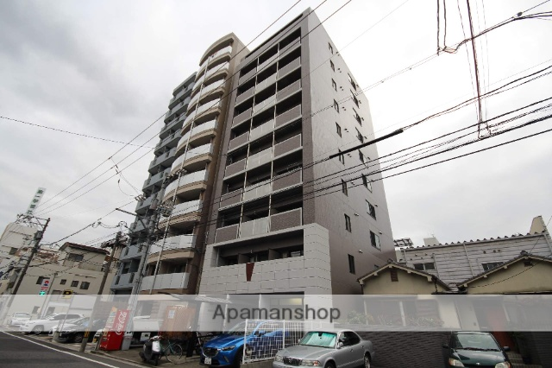 広島県広島市中区、城北駅徒歩5分の築18年 10階建の賃貸マンション