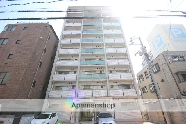 広島県広島市中区、新白島駅徒歩6分の築12年 10階建の賃貸マンション