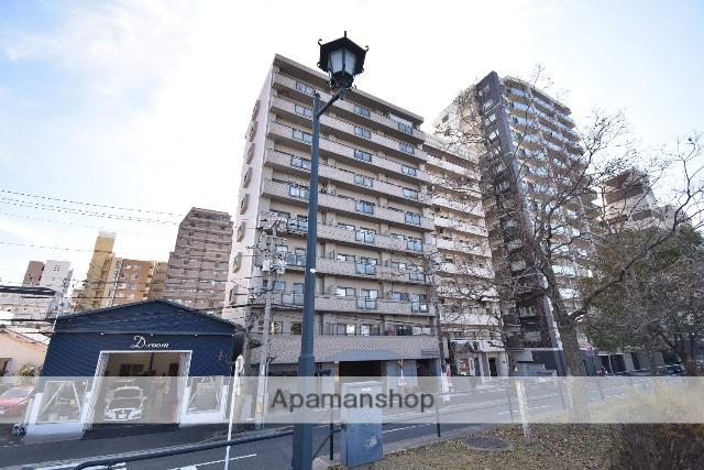 広島県広島市中区、小網町駅徒歩10分の築21年 10階建の賃貸マンション