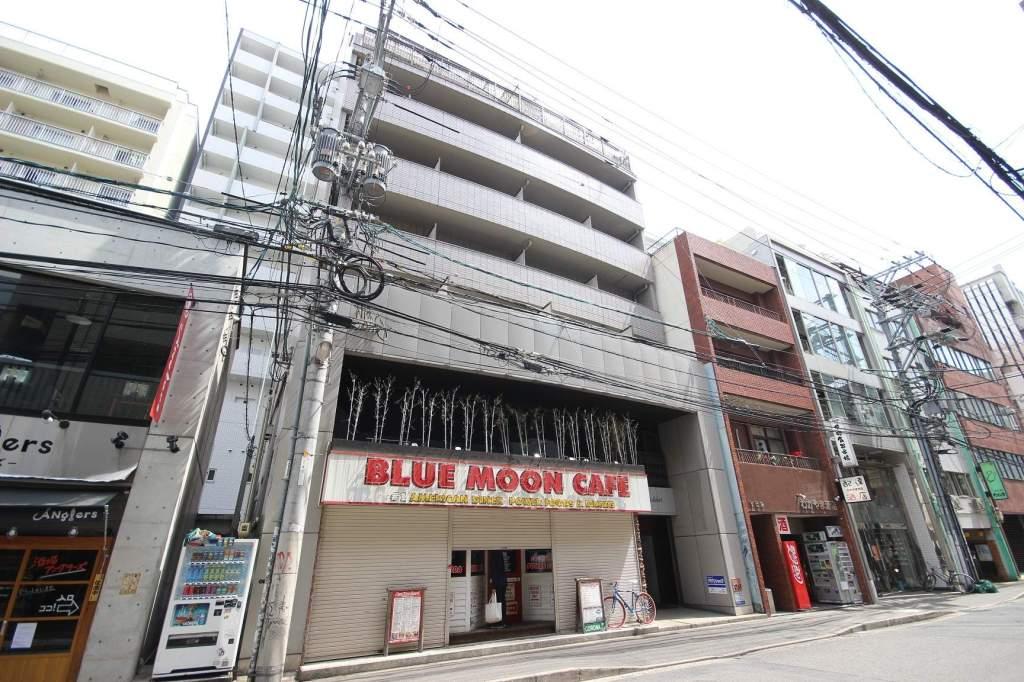 広島県広島市中区、立町駅徒歩8分の築25年 8階建の賃貸マンション