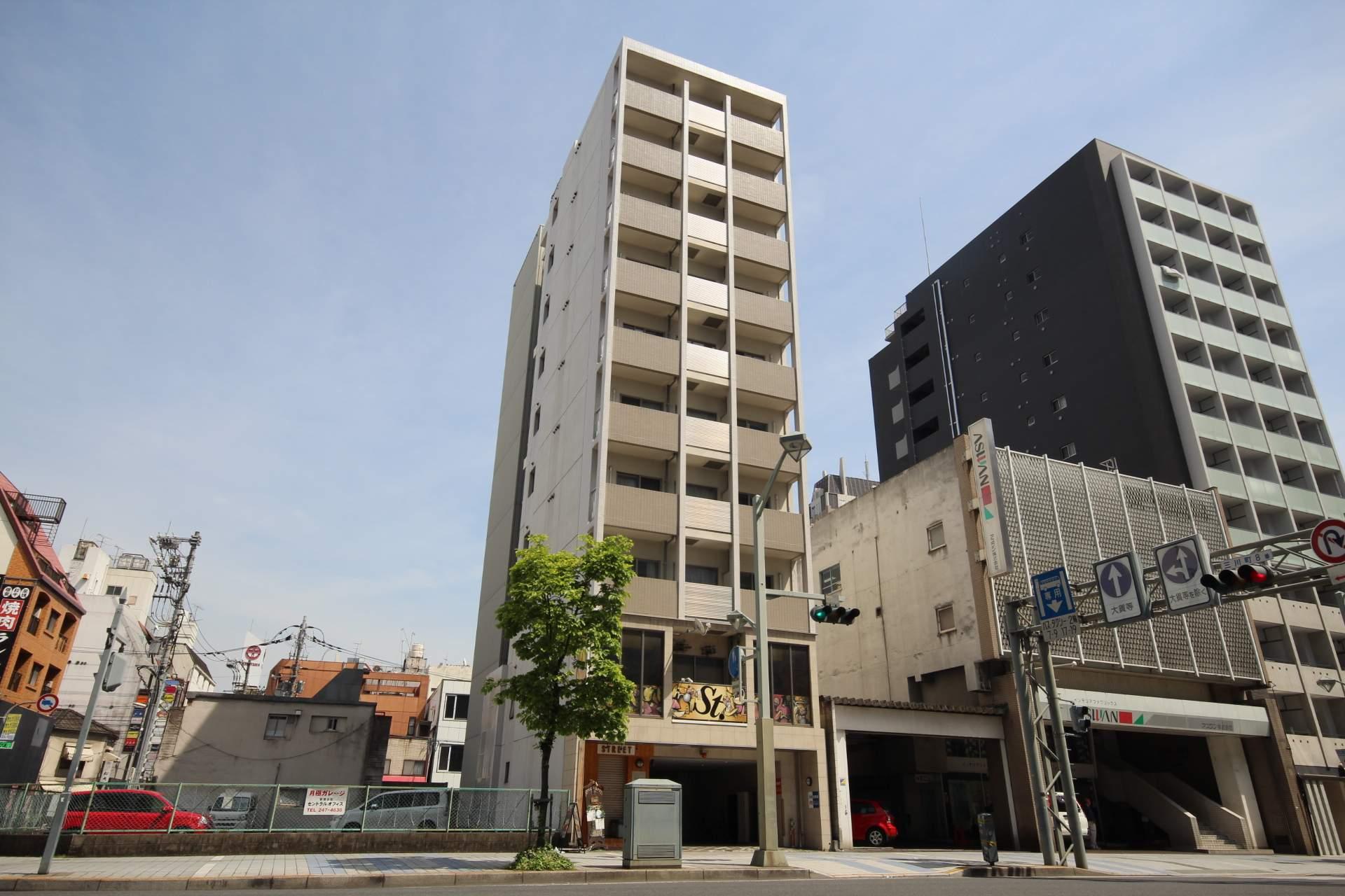 広島県広島市中区、胡町駅徒歩7分の築10年 10階建の賃貸マンション