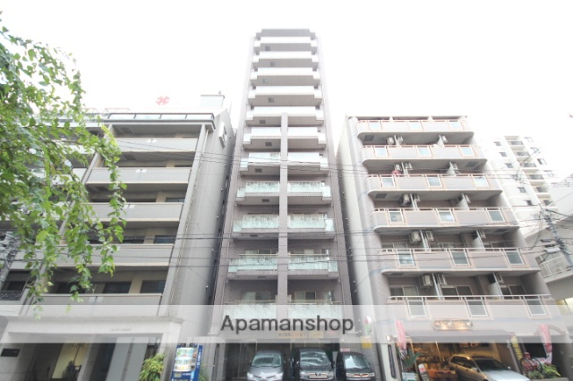 広島県広島市中区、稲荷町駅徒歩7分の築4年 12階建の賃貸マンション