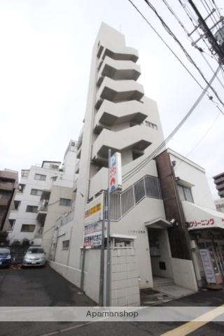 広島県広島市中区、新白島駅徒歩7分の築23年 7階建の賃貸マンション