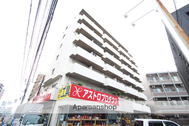 広島県広島市南区、比治山橋駅徒歩15分の築37年 7階建の賃貸マンション