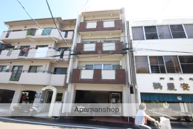 広島県広島市中区、比治山下駅徒歩9分の築39年 4階建の賃貸マンション