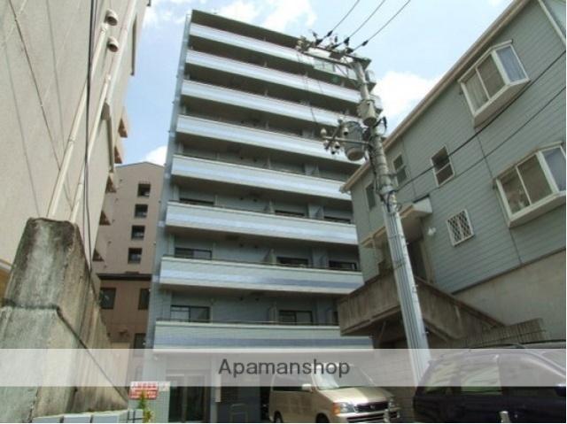 広島県広島市西区、横川駅駅徒歩10分の築20年 9階建の賃貸マンション