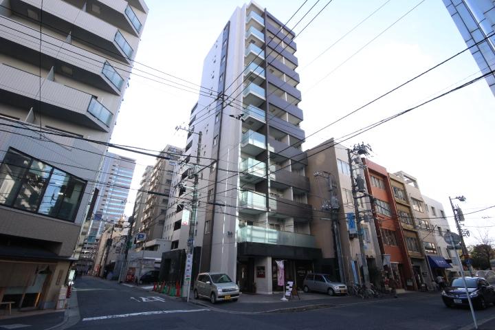 広島県広島市中区、本通駅徒歩3分の築8年 11階建の賃貸マンション