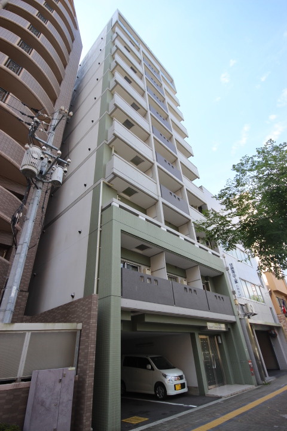 広島県広島市中区、銀山町駅徒歩7分の築8年 11階建の賃貸マンション