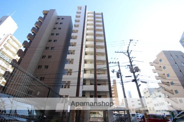 広島県広島市中区、土橋駅徒歩7分の築2年 14階建の賃貸マンション