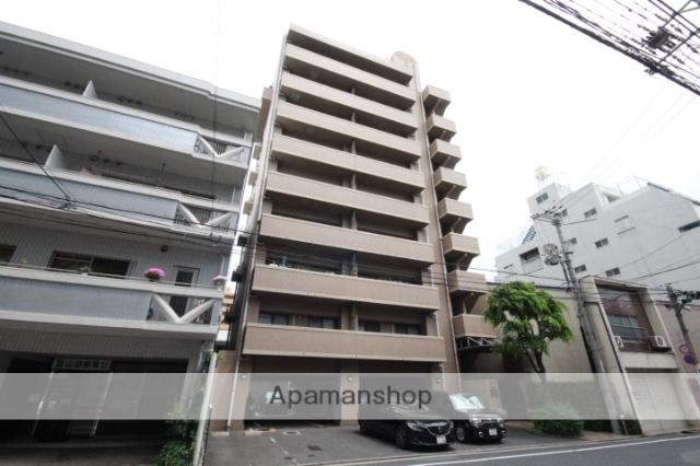 広島県広島市中区、土橋駅徒歩5分の築19年 9階建の賃貸マンション