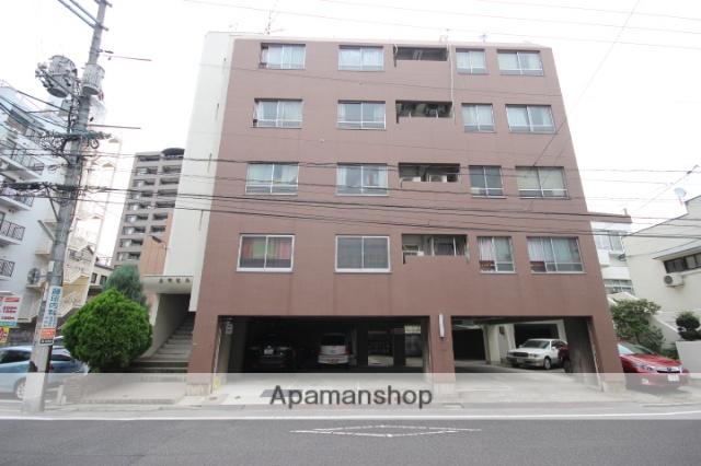 広島県広島市中区、城北駅徒歩10分の築43年 5階建の賃貸マンション