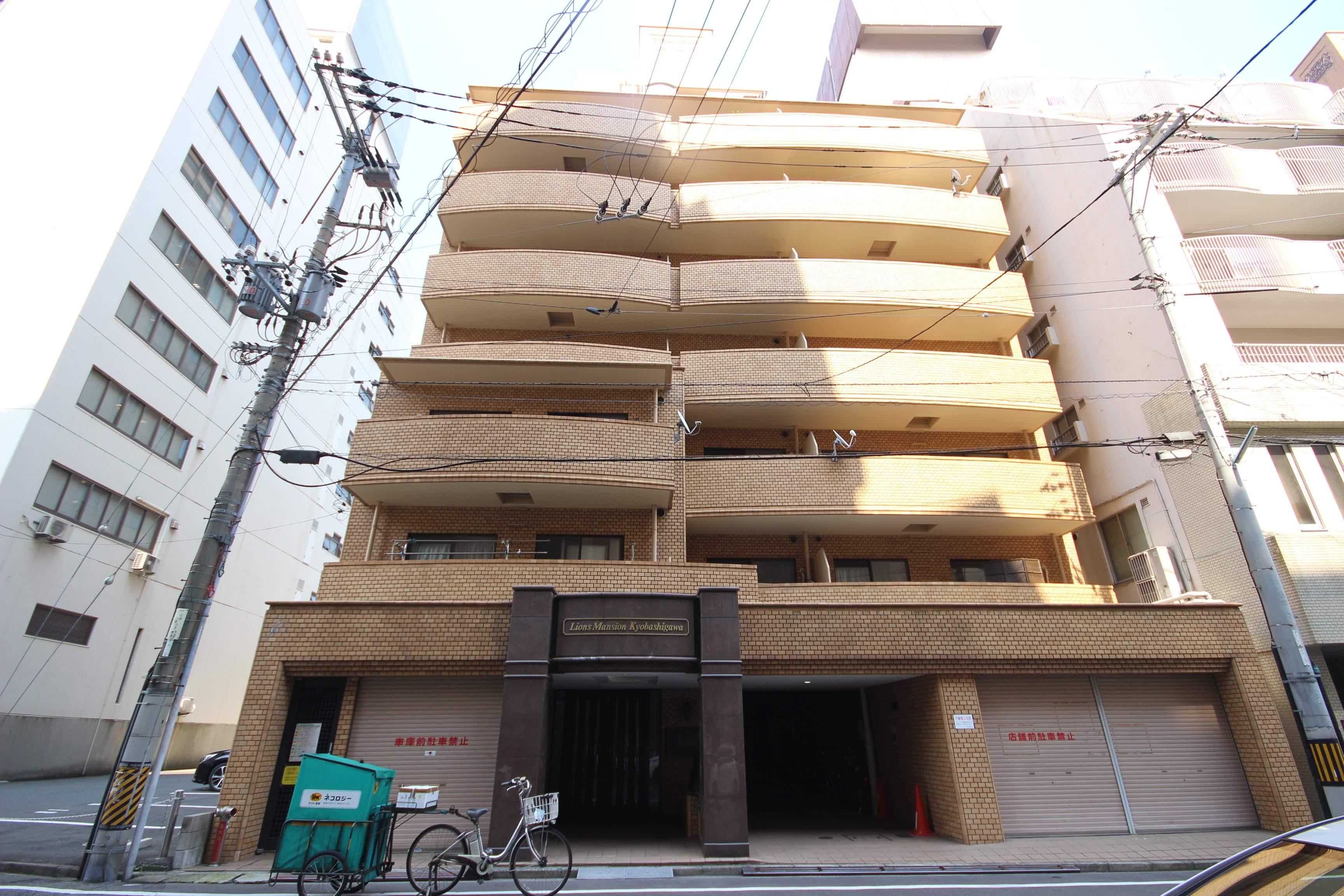 広島県広島市中区、稲荷町駅徒歩7分の築29年 14階建の賃貸マンション
