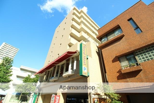 広島県広島市中区、広電本社前駅徒歩6分の築27年 8階建の賃貸マンション