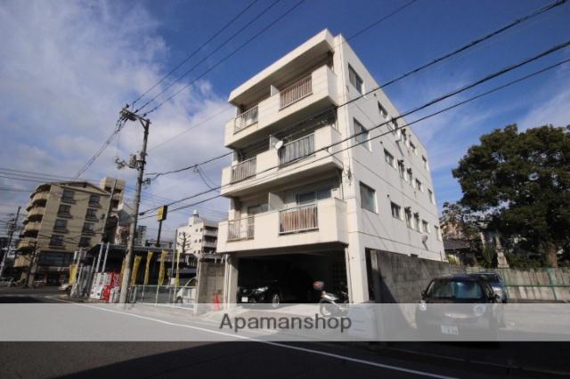 広島県広島市中区、新白島駅徒歩7分の築38年 4階建の賃貸マンション