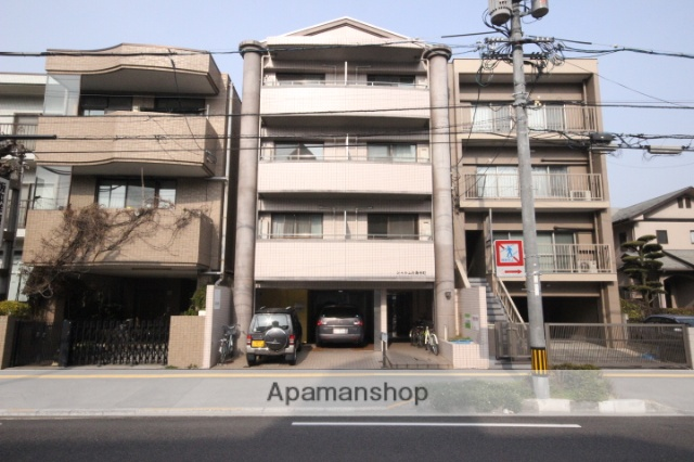 広島県広島市中区、新白島駅徒歩8分の築23年 4階建の賃貸マンション