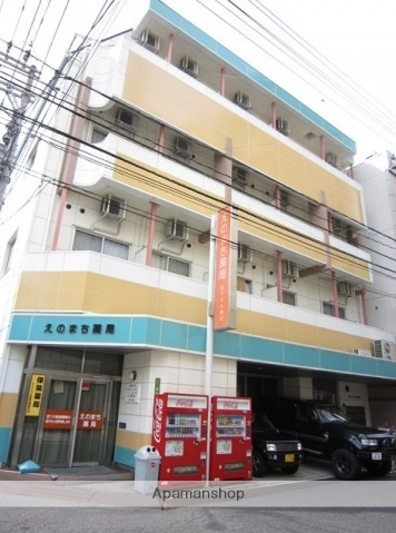 広島県広島市中区、土橋駅徒歩6分の築18年 4階建の賃貸マンション