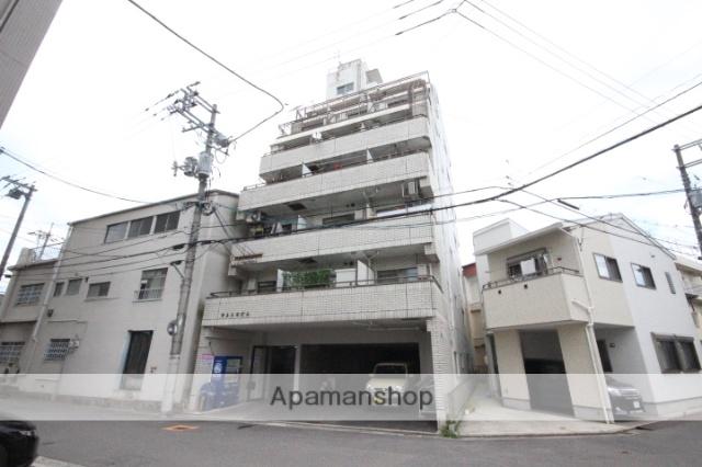 広島県広島市西区、観音町駅徒歩13分の築28年 7階建の賃貸マンション