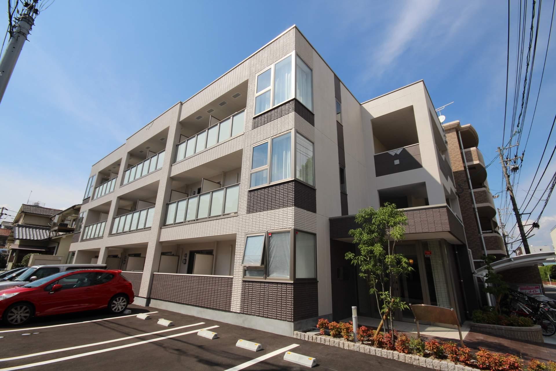 広島県広島市中区、舟入幸町駅徒歩9分の築1年 3階建の賃貸マンション