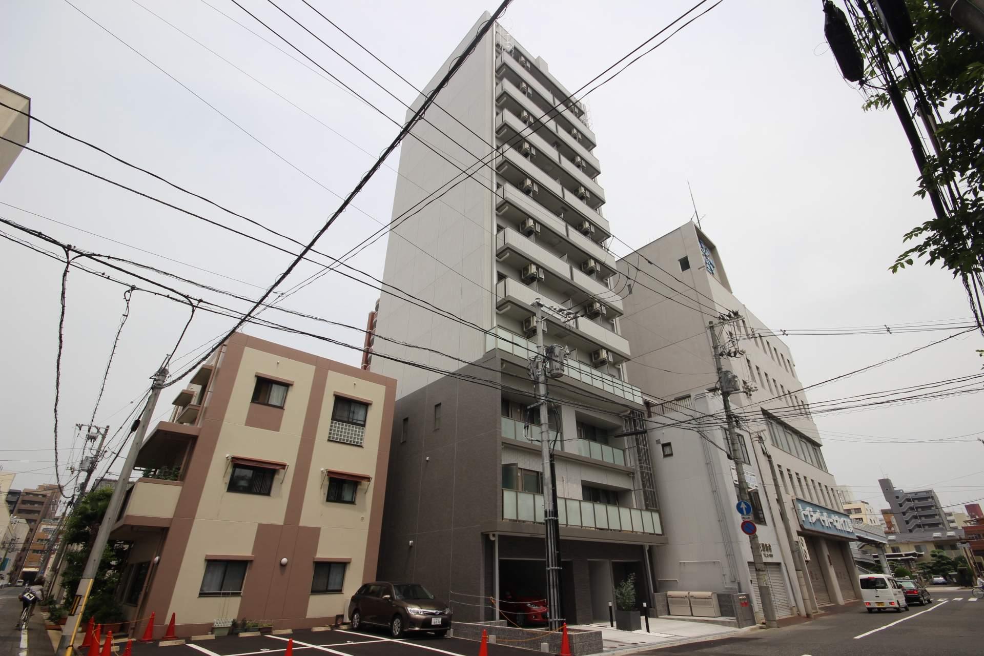 広島県広島市中区、原爆ドーム前駅徒歩5分の築1年 12階建の賃貸マンション