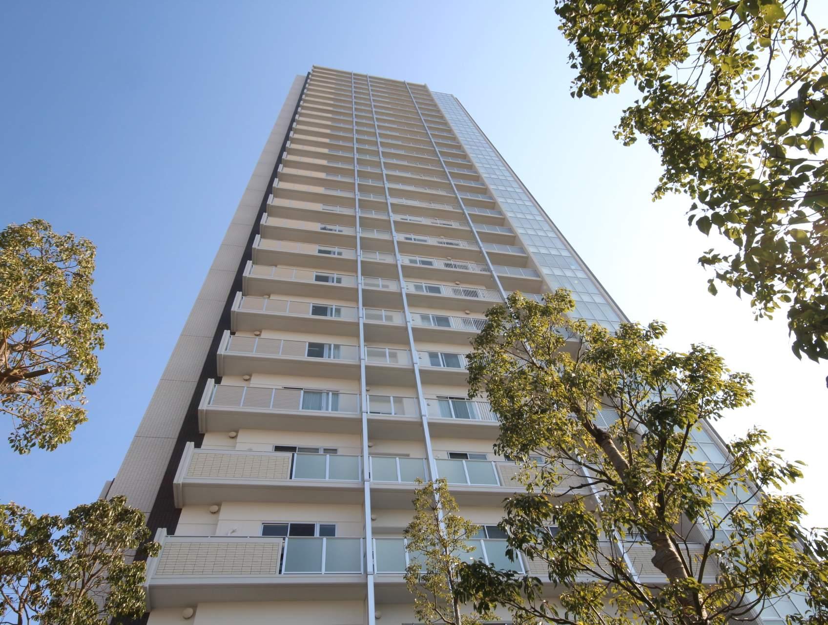 広島県広島市中区、縮景園前駅徒歩7分の築1年 28階建の賃貸マンション