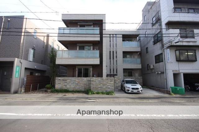 広島県広島市中区、新白島駅徒歩6分の新築 3階建の賃貸マンション