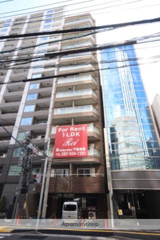 広島県広島市中区、八丁堀駅徒歩6分の新築 13階建の賃貸マンション