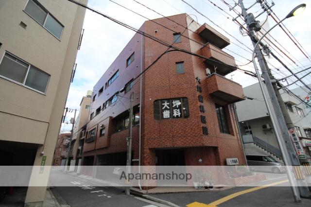 広島県広島市中区、鷹野橋駅徒歩7分の築37年 4階建の賃貸マンション