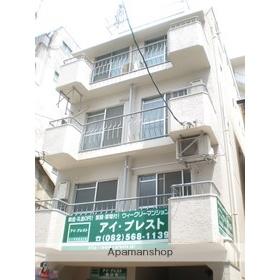広島県広島市中区、稲荷町駅徒歩5分の築39年 5階建の賃貸マンション