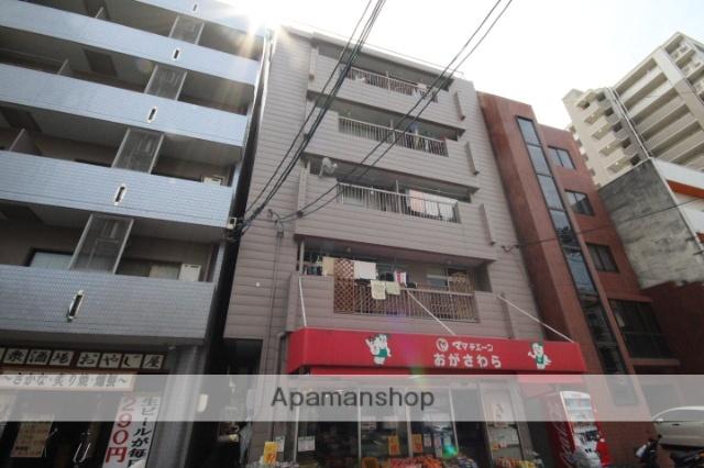 広島県広島市中区、市役所前駅徒歩5分の築36年 5階建の賃貸マンション