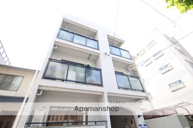 広島県広島市中区、御幸橋駅徒歩8分の築21年 3階建の賃貸マンション