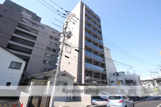 広島県広島市中区、縮景園前駅徒歩10分の築2年 10階建の賃貸マンション