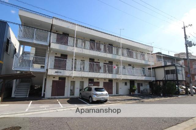 広島県広島市西区、新井口駅徒歩7分の築33年 3階建の賃貸マンション