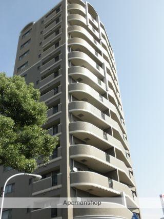 広島県広島市南区、稲荷町駅徒歩4分の築15年 14階建の賃貸マンション