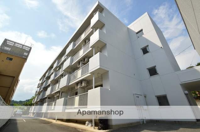 広島県東広島市、八本松駅徒歩7分の築32年 4階建の賃貸マンション