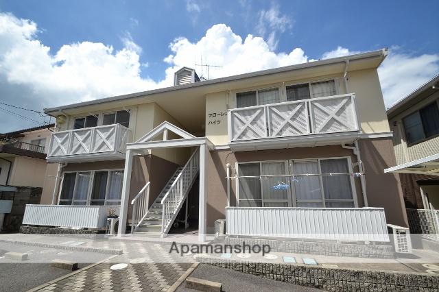 広島県東広島市の築22年 2階建の賃貸アパート