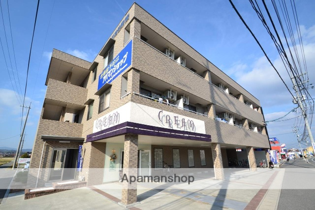 広島県東広島市の築8年 3階建の賃貸マンション