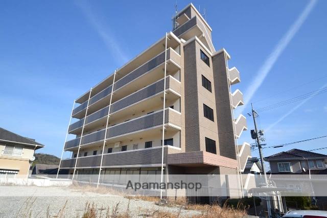 広島県東広島市、八本松駅徒歩13分の築21年 5階建の賃貸マンション