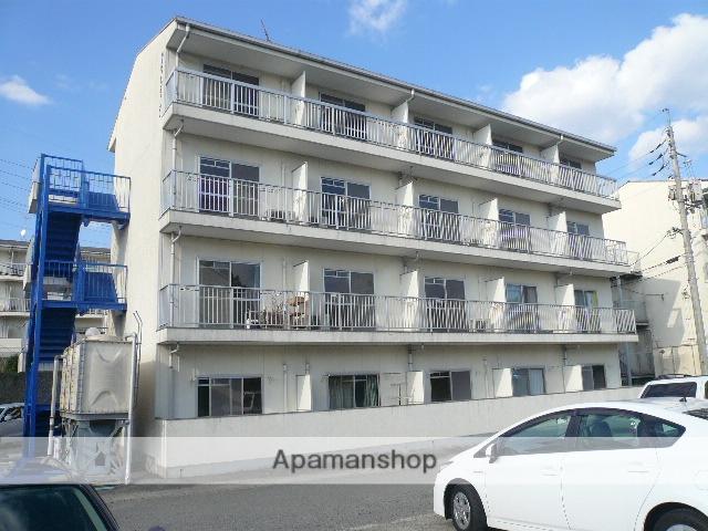 広島県東広島市の築23年 4階建の賃貸アパート