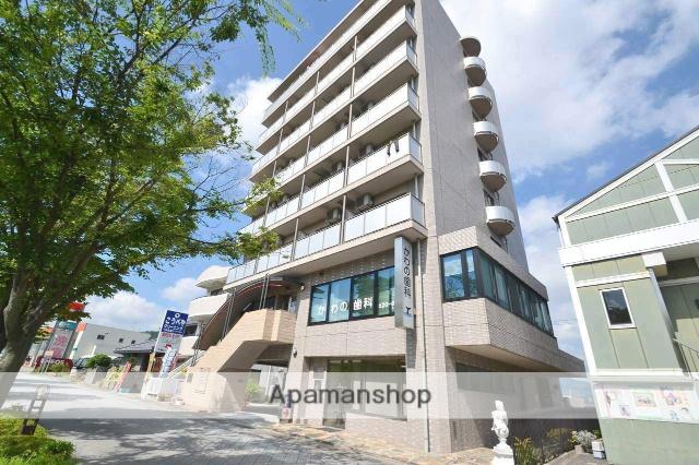 広島県東広島市、西条駅徒歩18分の築19年 8階建の賃貸マンション