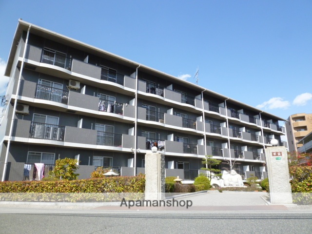 広島県東広島市の築21年 4階建の賃貸マンション