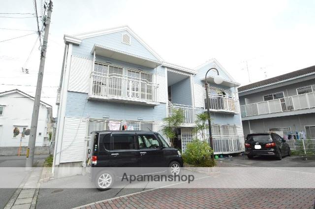 広島県東広島市、八本松駅徒歩28分の築24年 2階建の賃貸アパート