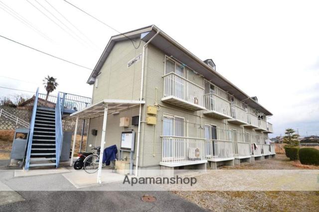 広島県東広島市、八本松駅バス10分下原下車後徒歩6分の築22年 2階建の賃貸アパート